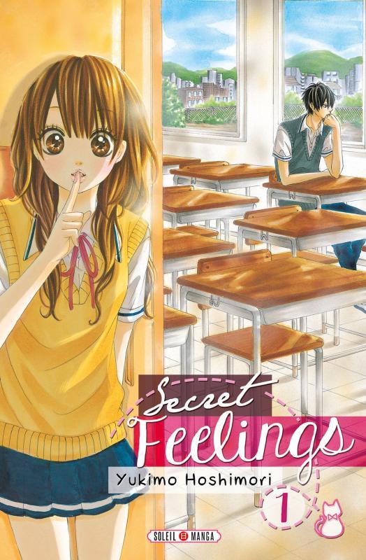 Secret feelings T1, manga chez Soleil de Hoshimori