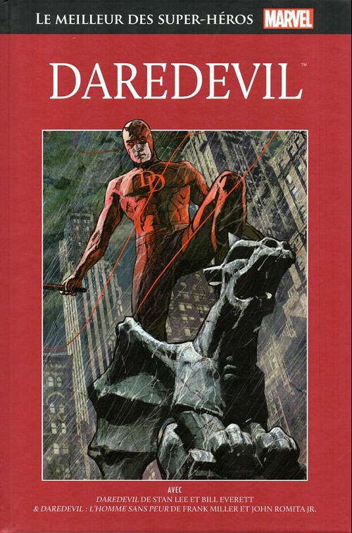 Marvel Comics : le meilleur des super-héros T10 : Daredevil (0), comics chez Hachette de Miller, Lee, Romita Jr, Williamson, Brodsky, Ditko, Everett, Scheele, Maleev
