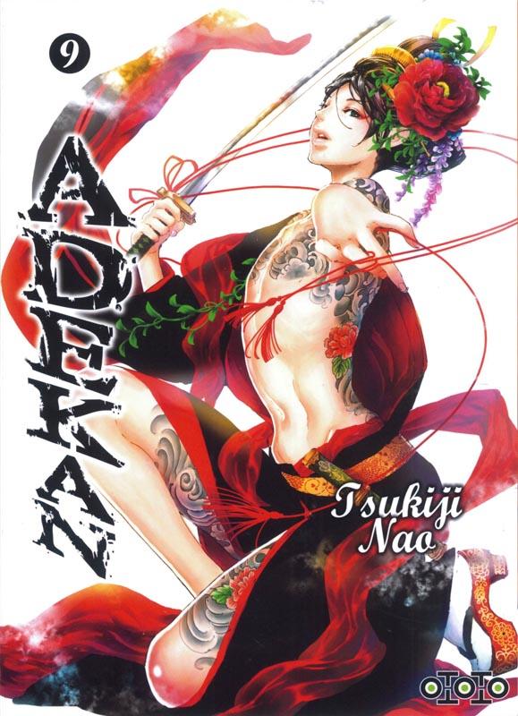 Adekan T9, manga chez Ototo de Nao