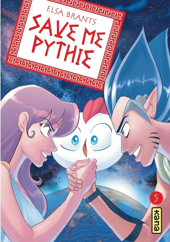 Save me pythie  T5, manga chez Kana de Brants