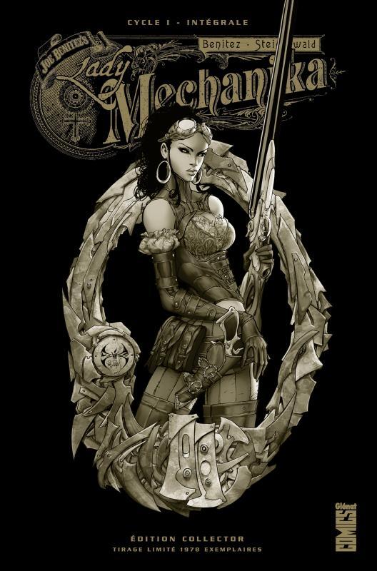 Lady Mechanika T1 : Le mystère du corps mécanique (0), comics chez Glénat de Benitez, Steigerwald