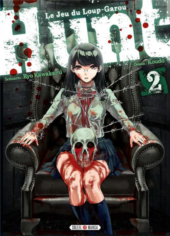Hunt - Le Jeu du Loup-Garou T2, manga chez Soleil de Kawakami, Koudo