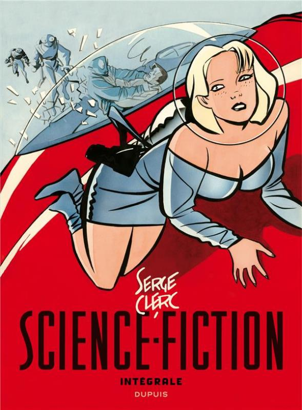 Science-Fiction, bd chez Dupuis de Clerc