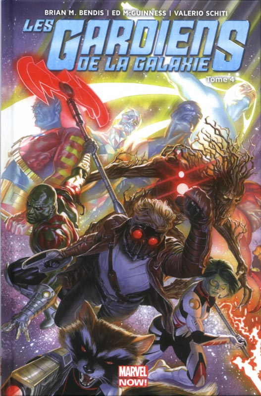 Les Gardiens de la Galaxie (vol.3) T4 : Original Sin (0), comics chez Panini Comics de Bendis, Schiti, Lopez, McGuinness, Ponsor, Keith, Ross