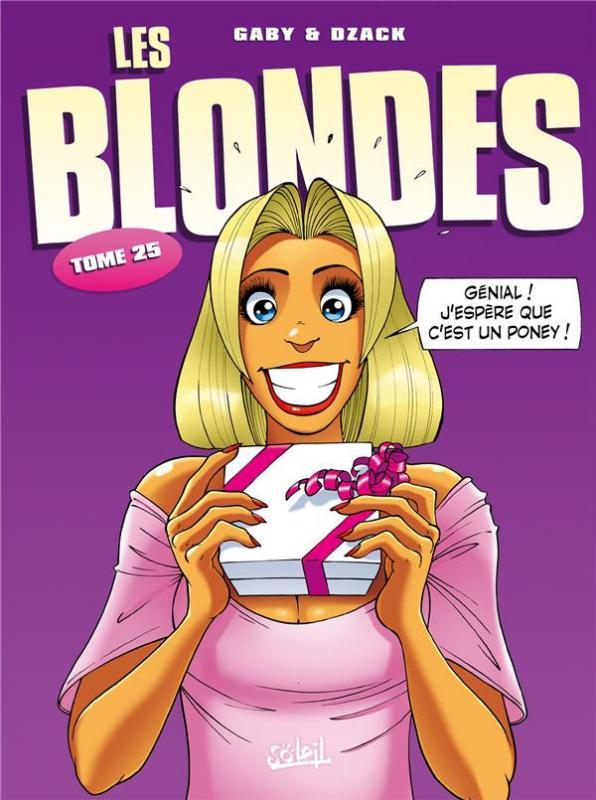 Les blondes T25, bd chez Soleil de Gaby, Dzack, Guillo