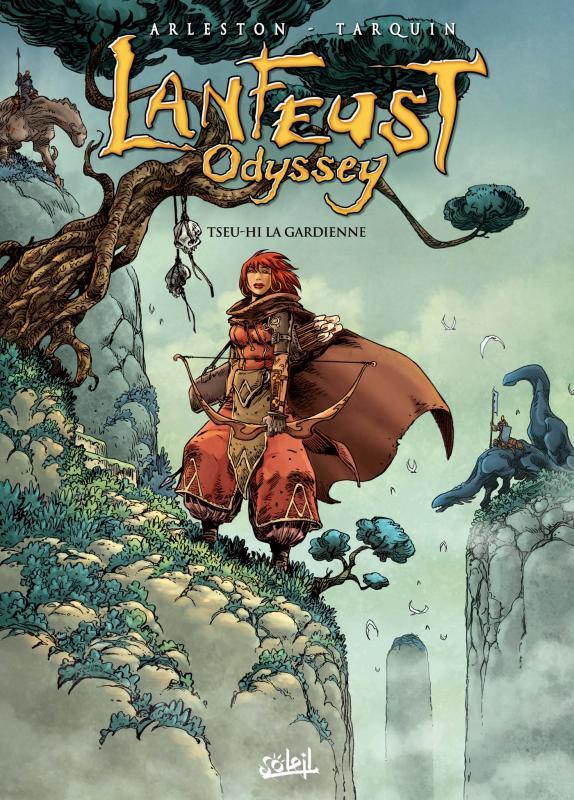 Lanfeust Odyssey T8 : Tseu-Hi la gardienne (0), bd chez Soleil de Arleston, Tarquin, Tarquin