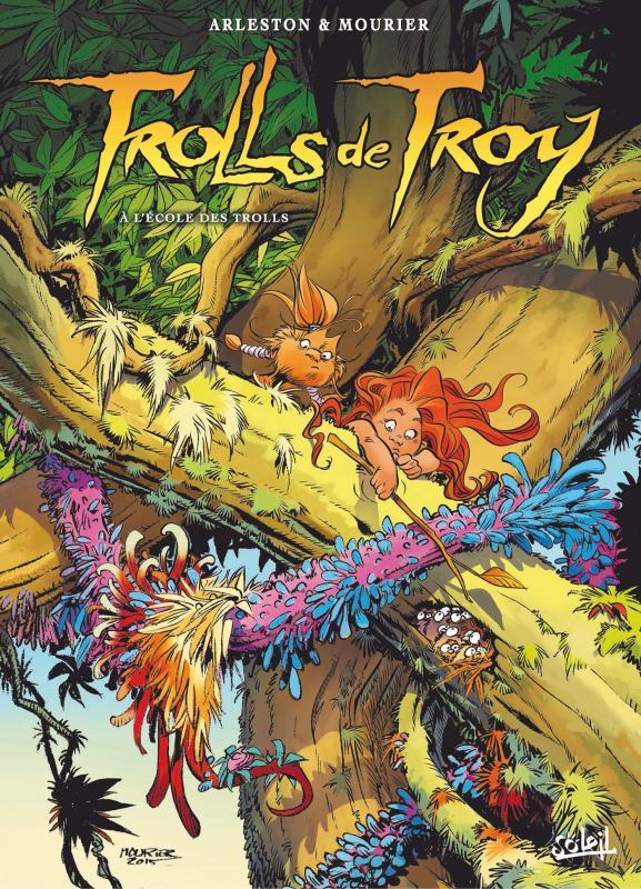 Trolls de Troy T22 : A l'école des trolls (0), bd chez Soleil de Arleston, Mourier, Guth