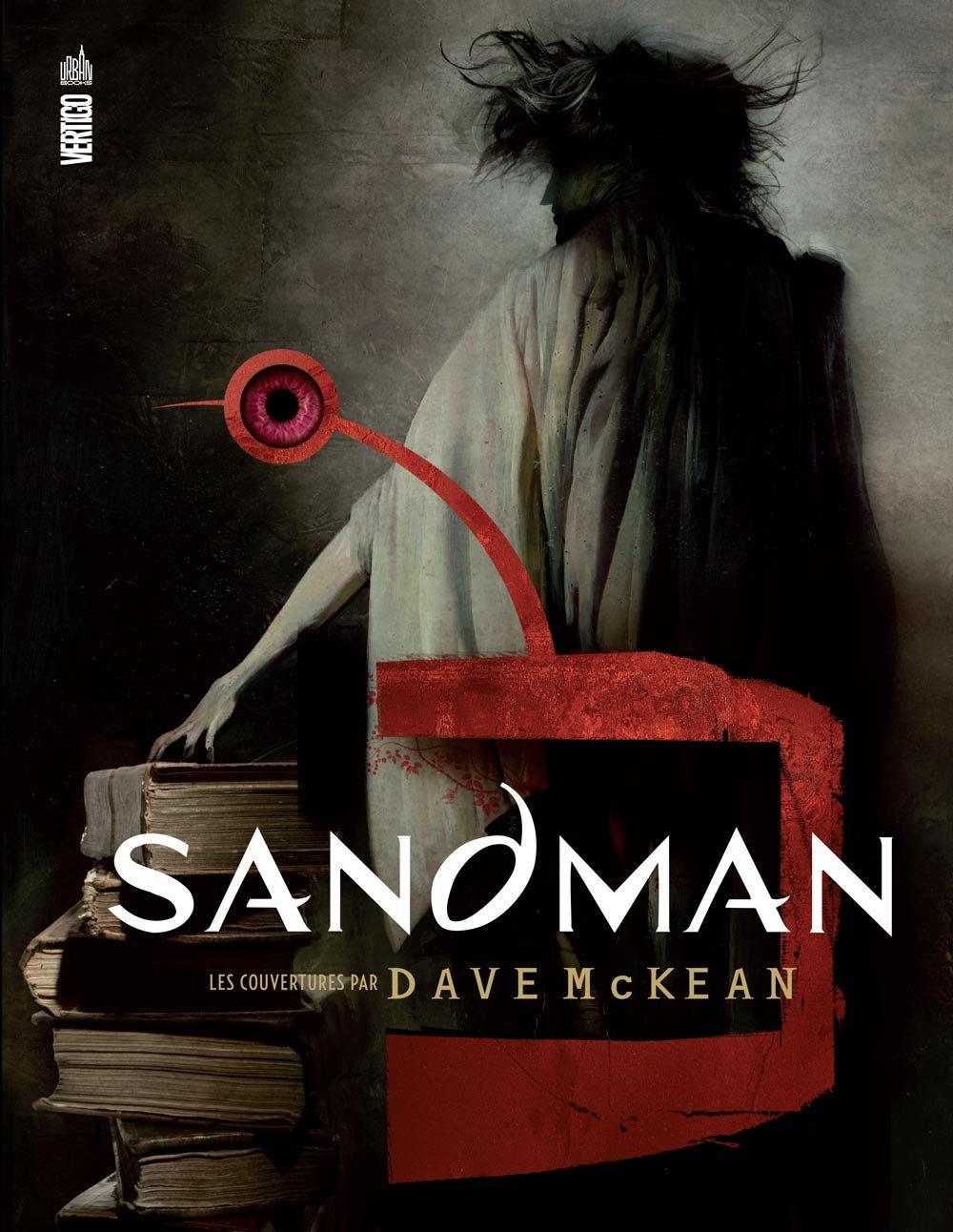 Sandman : Les couvertures par Dave McKean (0), comics chez Urban Comics de McKean, Gaiman