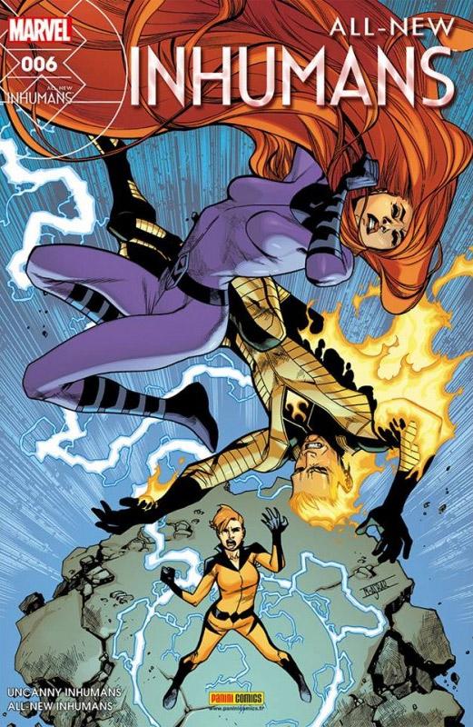 All-New Inhumans T6 : La Torche et la Reine (0), comics chez Panini Comics de Soule, Asmus, Walker, Caselli, Mossa, Curiel, Asrar