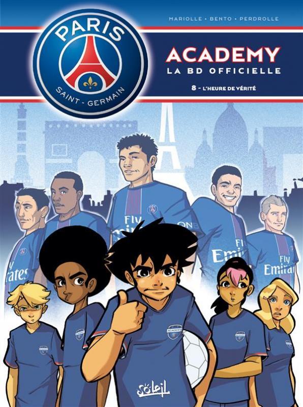PSG academy T8 : L'heure de vérité (0), bd chez Soleil de Mariolle, Bento, Perdrolle