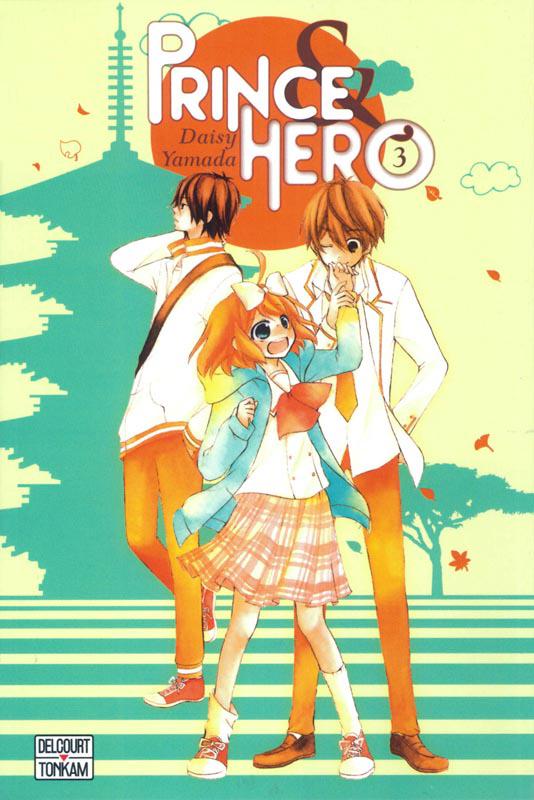 Prince & hero T3, manga chez Tonkam de Yamada
