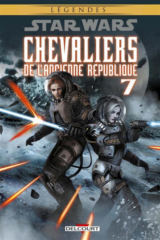 Star Wars - Chevaliers de l'ancienne République T7 : La destructrice (0), comics chez Delcourt de Jackson Miller, Chan, Dazo, Ching, Atiyeh, Carré