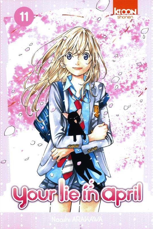 Your lie in april  T11, manga chez Ki-oon de Arakawa