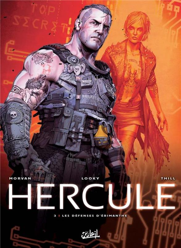 Hercule T3 : Les Défenses d'Érimanthe (0), bd chez Soleil de Morvan, Looky, Thill