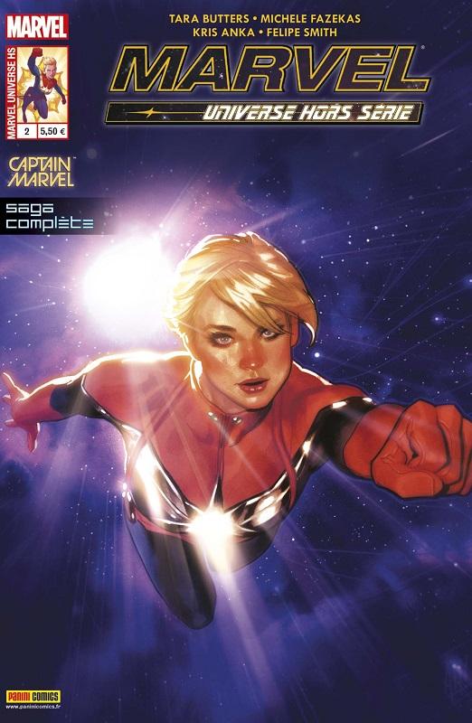Marvel Universe - Hors Série T2 : Captain Marvel - L'étoile de Hala (0), comics chez Panini Comics de Butters, Fazekas, Smith, Anka, Wilson, Hughes