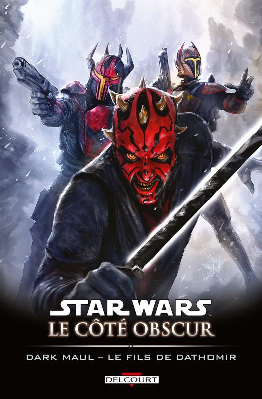 Star Wars - Le côté obscur T15 : Dark Maul - Le fils de Dathomir (0), comics chez Delcourt de Barlow, Frigeri, Dzioba, Scalf