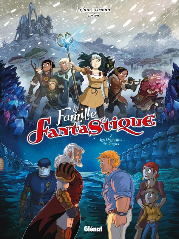 La Famille Fantastique T2 : Les orphelins de Targas (0), bd chez Glénat de Lylian, Drouin, Lorien