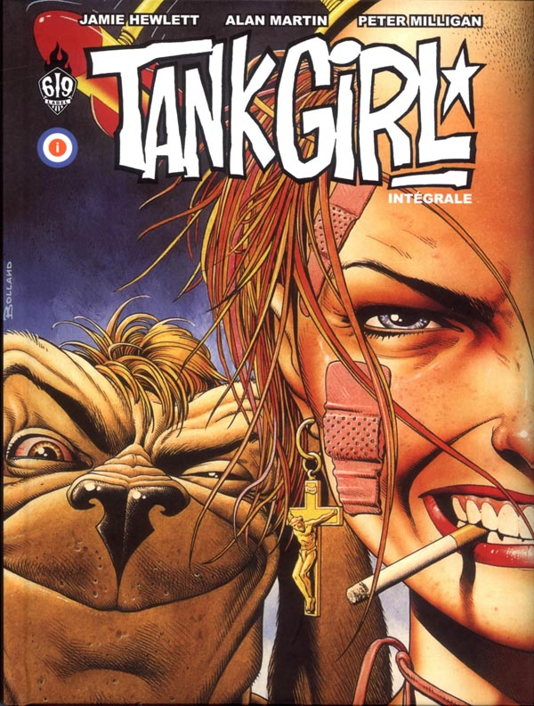 Tank Girl : , comics chez Ankama de Milligan, Martin, Bond, Hewlett