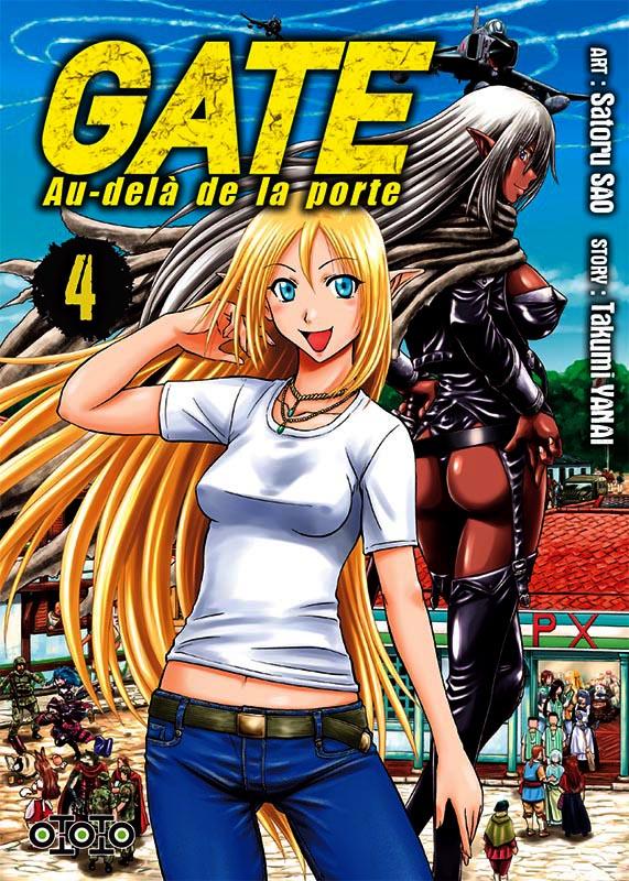 Gate - Au-delà de la porte T4, manga chez Ototo de Yanai, Sao