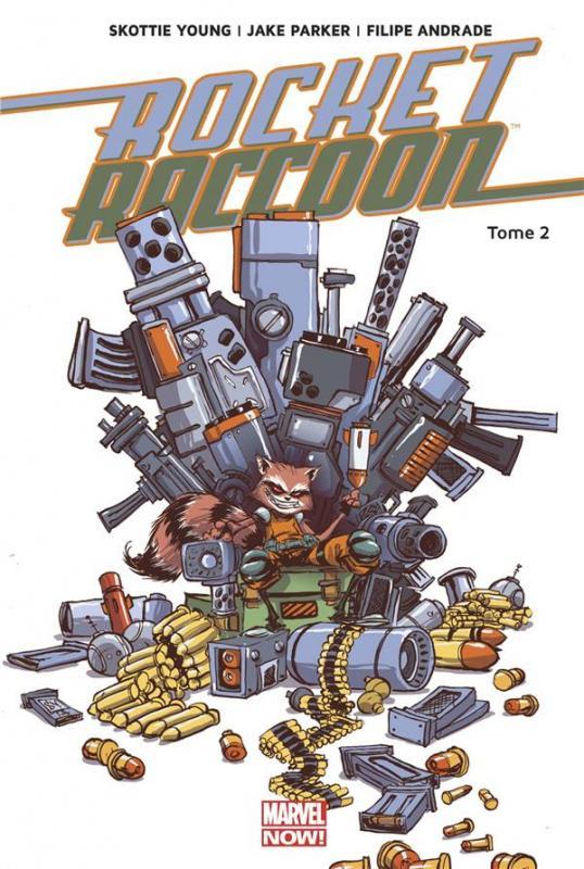 Rocket Raccoon T2 : Monstre en folie (0), comics chez Panini Comics de Young, Parker, Andrade, Beaulieu