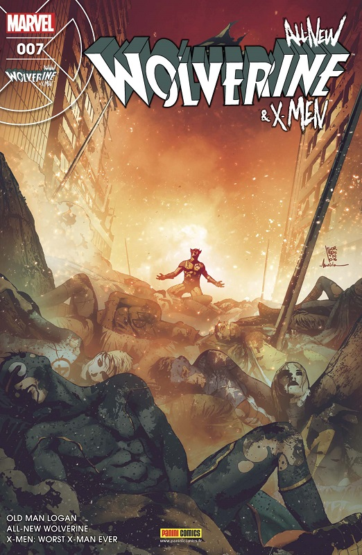 All-New Wolverine & X-Men T7 : Le pire X-Man qui soit, comics chez Panini Comics de Taylor, Bemis, Lemire, Walsh, Takara, Sorrentino, Lopes, Redmond, Maiolo