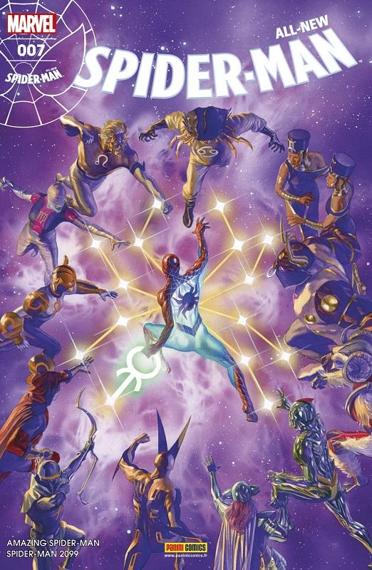 All-New Spider-Man T7 : Signes célestes (0), comics chez Panini Comics de Slott, David, Sliney, Camuncoli, Rosenberg, Gracia, Ross