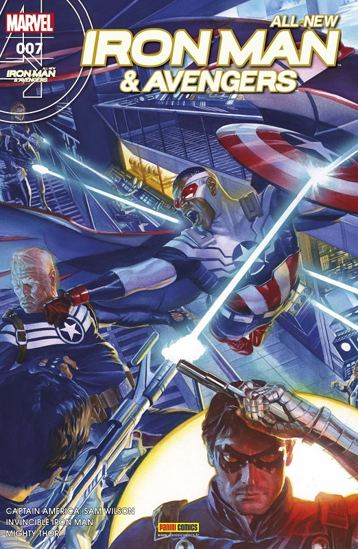 All-New  Iron Man & Avengers T7 : Présentation (0), comics chez Panini Comics de Spencer, Bendis, Whedon, Aaron, Cassaday, Dauterman, Deodato Jr, Unzueta, Acuña, Garres, Wilson, Yackey, Martin, Martin jr, Ross