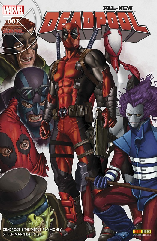 All-New Deadpool (revue) T7 : Les pros à payer (0), comics chez Panini Comics de Auckerman, Bunn, Duggan, Brown, Espin, Koblish, Keith, Staples, Horn