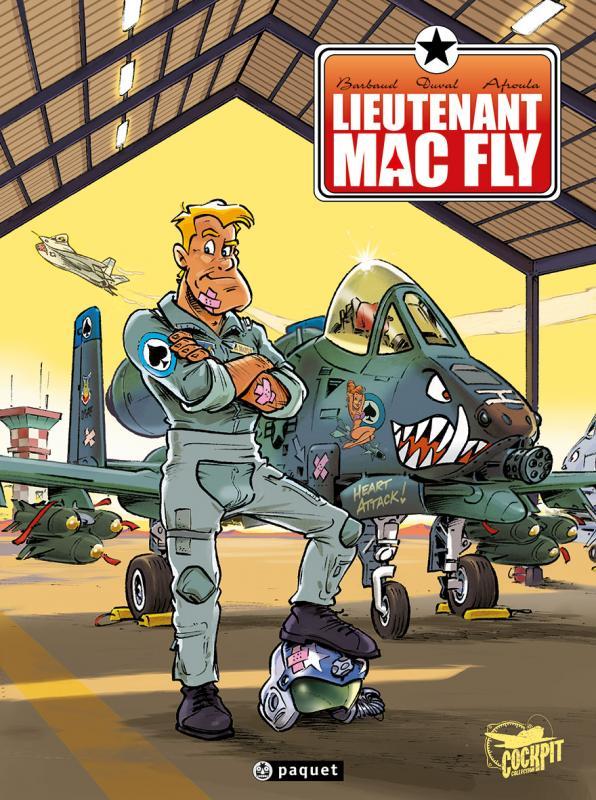 Lieutenant Mac Fly, bd chez Paquet de Duval, Barbaud, Afroula
