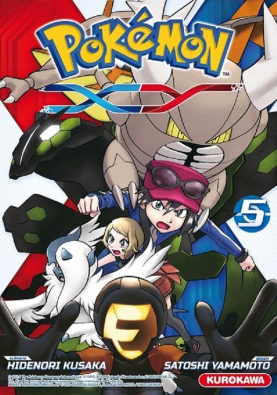 Pokémon XY T5 : , manga chez Kurokawa de Kusaka, Yamamoto