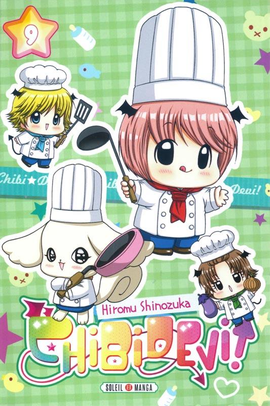 Chibi devi ! T9, manga chez Soleil de Shinozuka