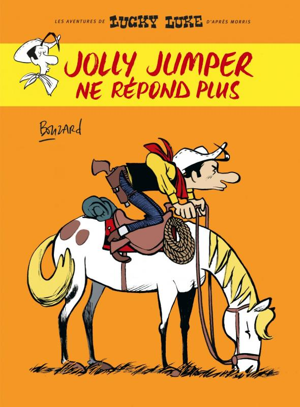 Lucky Luke vu par Bouzard : Jolly Jumper ne répond plus (0), bd chez Dargaud de Bouzard, Ory