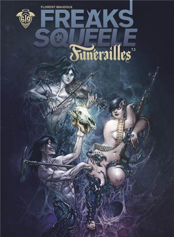 Freaks' Squeele – Funérailles, T3 : Cowboys on horses without wings (0), bd chez Ankama de Maudoux