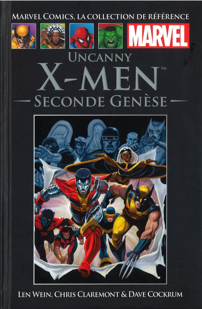 Marvel Comics, la collection de référence – Classic, T30 : Uncanny X-Men - Seconde genèse (0), comics chez Hachette de Wein, Claremont, Mantlo, Cockrum, Wolfman, Cohen, Warfield, Wein, Wilford, Rachelson, Goldberg