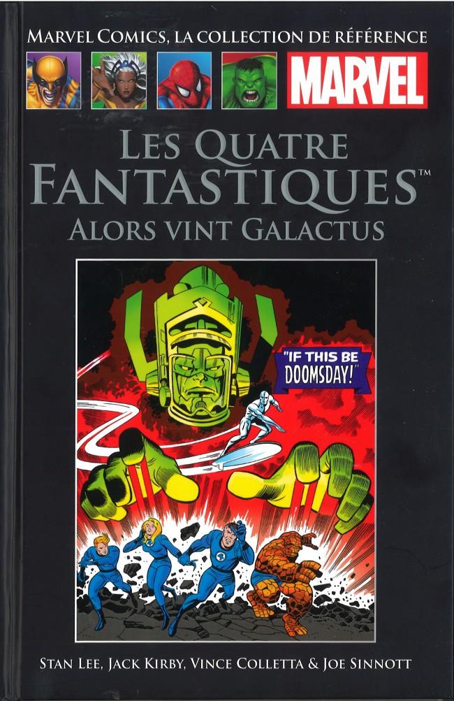 Marvel Comics, la collection de référence T3 : Les Quatre Fantastiques - Alors vint Galactus (0), comics chez Hachette de Kirby, Lee, Coletta, Sinnott