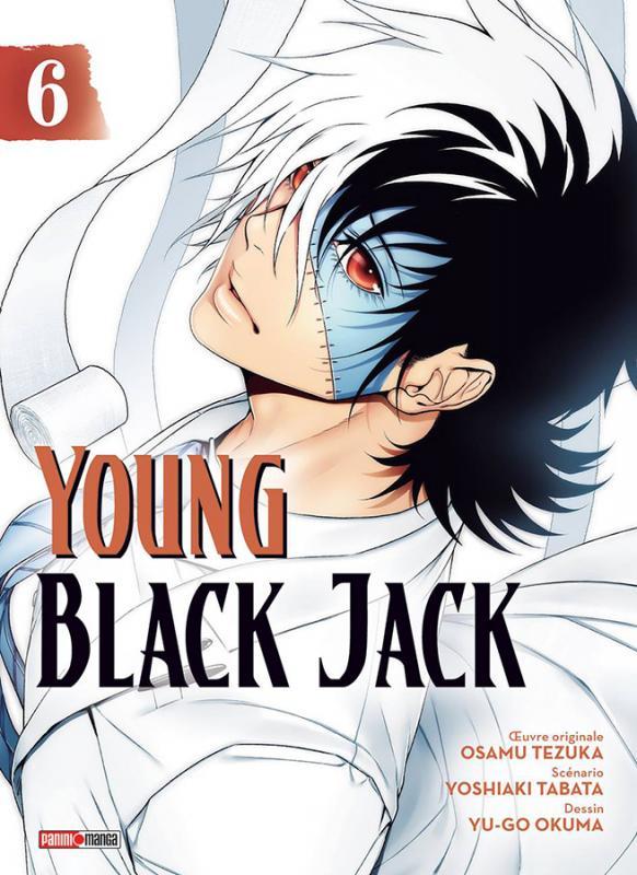 Young Black Jack T6, manga chez Panini Comics de Tabata, Tezuka, Okuma