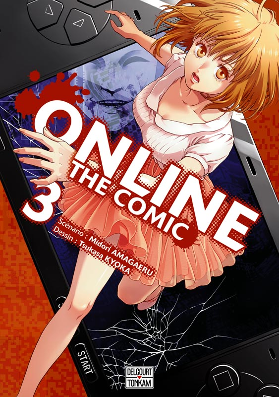 Online the comic  T3, manga chez Delcourt de Amagaeru, Kyoka