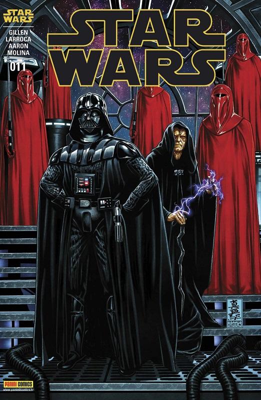 Star Wars (revue Marvel) V1 – V 1, T11 : Le dernier vol du Harbinger (0), comics chez Panini Comics de Aaron, Gillen, Larroca, Molina, Milla, Delgado, Brooks