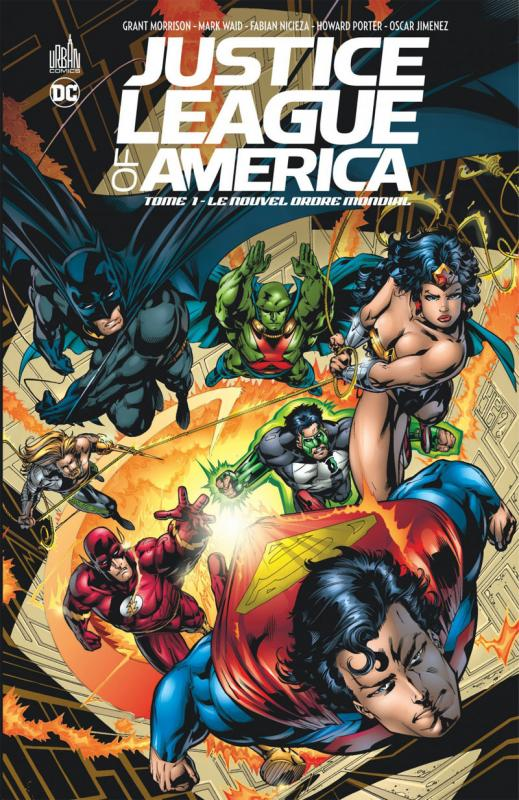 Justice League of America T1, comics chez Urban Comics de Millar, Waid, Morrison, Kitson, Robertson, Porter
