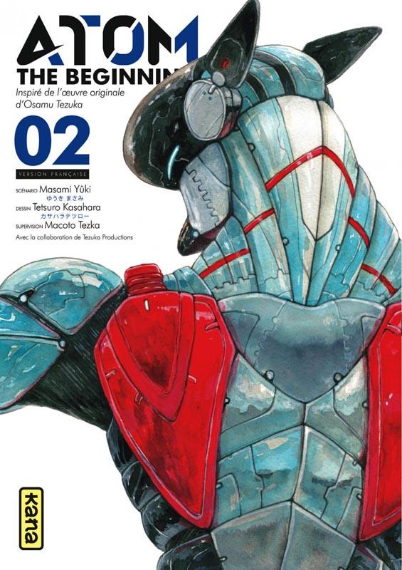 Atom - The beginning  T2, manga chez Kana de Yuuki, Tezuka