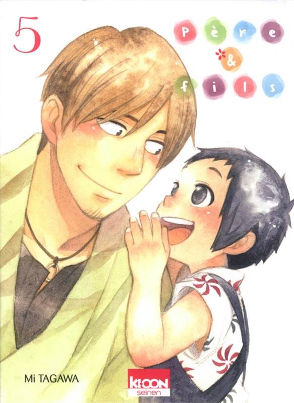 Père & fils T5, manga chez Ki-oon de Tagawa