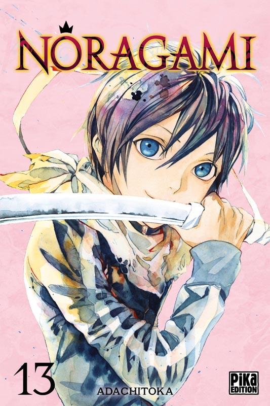 Noragami T13, manga chez Pika de Adachi