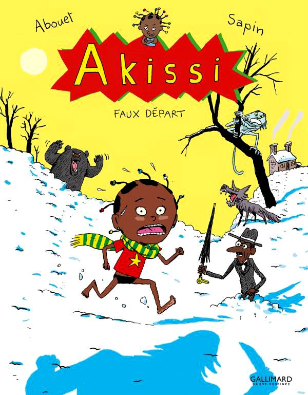 Akissi T7 : Faux départ (0), bd chez Gallimard de Abouet, Sapin