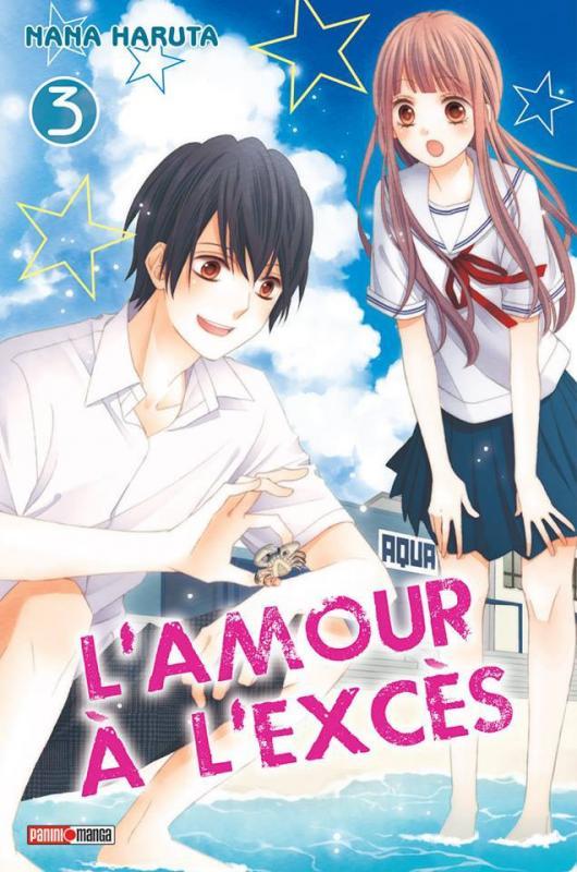 L'amour à l'excès  T3, manga chez Panini Comics de Haruta