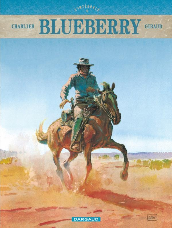 Blueberry T4, bd chez Dargaud de Charlier, Giraud