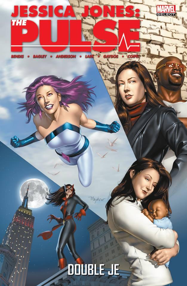 Jessica Jones : The Pulse : Double Je (0), comics chez Panini Comics de Bendis, Lark, Coipel, Anderson, Bagley, Villarrubia, Pantazis, Mayhew