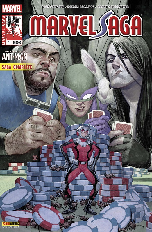 Marvel Saga T4 : The Astonishing Ant-Man (0), comics chez Panini Comics de Spencer, Schoonover, Rosanas, Boyd, Quintana, Tedesco