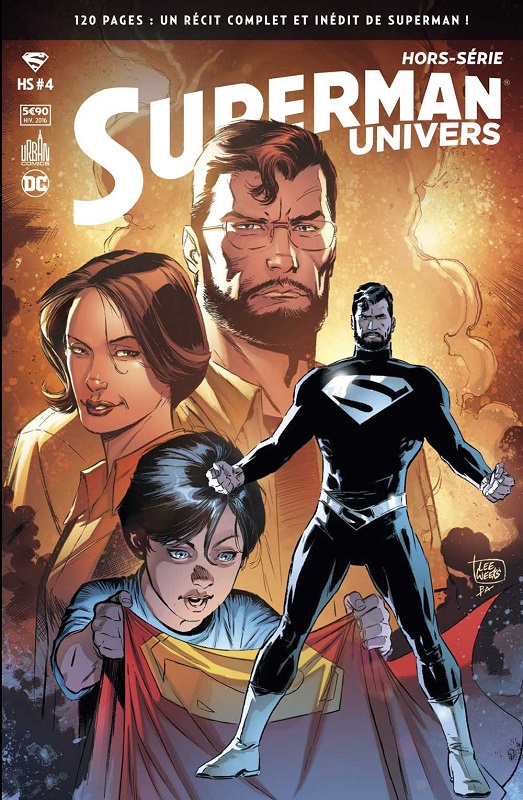 Superman Univers - Hors Série T4 : Superman : Loïs & Clark (0), comics chez Urban Comics de Jurgens, Edwards, Weeks, Santucci, Anderson