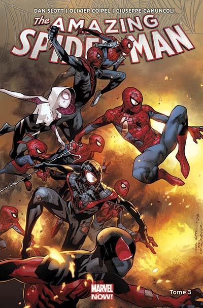The Amazing Spider-Man T3 : Spider-Verse (0), comics chez Panini Comics de Slott, Coipel, Camuncoli, Ponsor, Fabela