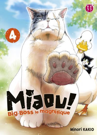 Miaou ! Big-Boss le magnifique  T4, manga chez Nobi Nobi! de Kakio